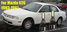 LED For Mazda 626 1993-1997 Headlight Kit 9006 HB4 6000K CREE Bulbs Low Beam