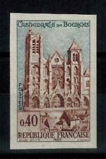 "(b29) timbre France n° 1453a neuf** année 1965 ""non dentelé"""