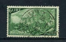 1948 - ITALIA - 6 LIRE CENTENARIO RISORGIMENTO - USATO - LOTTO/25233