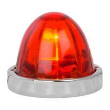 red watermelon glass lens light kit incandescent old school look flush mount new