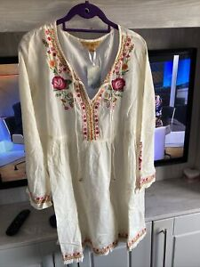 Ladies April Cornell Kaftan Tunic XL BNWT