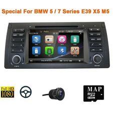 7in For BMW E39 X5-E53 E38 Car In-Dash Radio DVD GPS Player Stereo Bluetooth+Cam