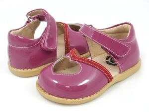 New LIVIE & LUCA Shoes Patent Leather Sweetie Fuchsia Pink 7 8 9