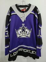 Autographed VTG Pro Player Los Angeles Kings Michael Cammalleri 13 Jersey 2XL