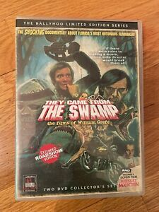 They Came From the Swamp the Film's of William Grefe OOP 2 DVDs LIKE NEW