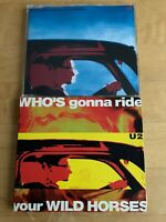 U2 ~ WHO'S GONNA RIDE YOUR WILD HORSES [CD MAXI SINGLES] - USED LOT OF 2