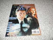 X-Files Magazine Official Collector Edition Duchovny 1996 Gillian Anderson