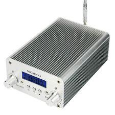 Hot Stereo 1W/6W PLL FM Transmitter Radio Station Xmitter Intelligent Broadcast