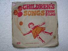 CHILDREN SONGS MOHD RAFI LATA SUSHAMA SHRESHTHA KISHORE BOLLYWOOD EP 1978 VG+