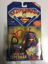 superman the animated show capture claw superman