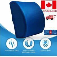 Mesh Lumbar Back Brace Support Cushion Pain Relief Car Seat Posture Corrector CA