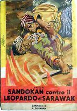 SANDOKAN CONTRO IL LEOPARDO DI SARAWAK SALGARI CARROCCIO COLLANA NORD OVEST