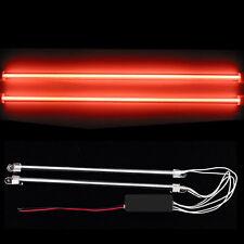 "2Pcs 12"" Car Red Undercar Underbody Neon Kit Lights CCFL Cold Cathode Tube"