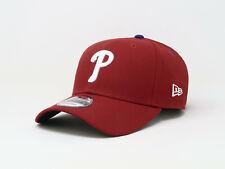 New Era 9Forty Cap MLB Team Philadelphia Phillies Womens Mens Adjustable Red Hat