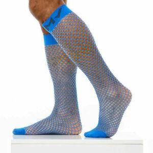 Modus Vivendi Long Socks FishNet Blue XS1821 61