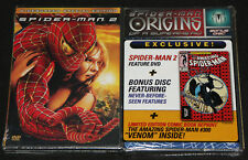 SPIDER-MAN 2 DVD w/ Bonus Disc & Amazing Spider-Man #300 Reprint Sealed Rare