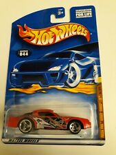 2001 Hot Wheels Fossil Fuel Series Camaro Z-28 Red Collector No. 044 from Mattel