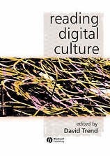 Reading Digital Culture (KeyWorks in Cultural Studies), Good Condition Book, Tre
