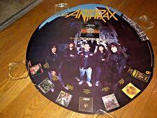 Anthrax -Persistence of Time (1990 Circular, Album Promo Poster)Thrash Metal