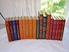 Roger Tory Peterson Field Guides Easton Press Leather Lot of 18-Birds-Plants etc
