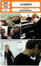 FICHE CINEMA : LA PIANISTE Huppert,Girardot,Magimel,Haneke2001 The Piano Teacher