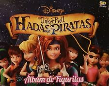 TINKER BELL HADAS Y PIRATAS EMPTY ALBUM + 25  UNNOPEND  ENVELOPES ARGENTINA 2014