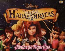 TINKER BELL HADAS Y PIRATAS EMPTY ALBUM + 25  UNNOPEND  ENVELOPES ARGENTINA 2014