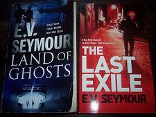 Lot 2 E.V. Seymour suspense Paul Tallis series Last Exile Land of Ghosts