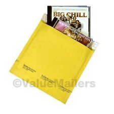 250 #CD 7.25x8 Kraft Bubble Lite Mailers CD ROM Envelopes