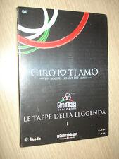 DVD N°1 GIRO D´ITALIA IO TI AMO LE TAPPE DELLA LEGGENDA MONTECAMPIONE GAVIA