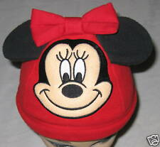 "Hat - Red Disney ""Minnie Mouse"" Ears & Bow Costume Hat"