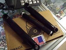 PROFILE RACING GDH 3-PIECE RHD 165MM BLACK BMX BICYCLE CRANK W/ 5-5/8 SPINDLE