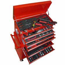 vidaXL Werkzeugwagen mit Werkzeugsatz und 7 Schubladen