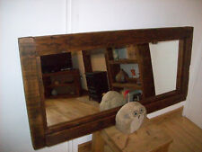 Reclaimed timber mirror