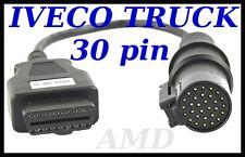 IVECO TRUCK diagnostic cable 30 PIN connector  AUTOCOM, DELPHI, WURTH, ECLIPSE