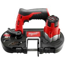 Milwaukee 2429-20 12-Volt Cordless 18 TPI Sub-Compact Band Saw Blade - Bare Tool