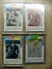 09-10 The Cup RC Rookie Masterpieces Printing Plate #MAS-489 LARS ELLER 1/1