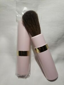 One Mary Kay Retractable Round Blush Brush in Pink - NEW