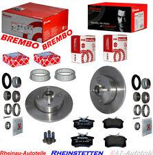 Bremsscheiben SET Radlager ABS-Ring Hint-VW Golf II 1.8, GTI,1.8 GTI 16V,GTI G60