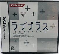 Nintendo DS  LovePlus Love+ Japan JP US Seller