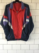Unisex Vintage Retro Vecchia Scuola anni'80 URBAN shellsuit Giacca Giacca a vento XL #15