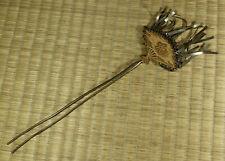Brass Kanzashi / Hair Pin / Japanese / Vintage