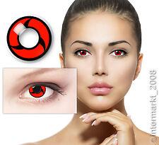 Farbige Crazy Fun Halloween Karneval Kontaktlinsen Contact lenses - MANGEKYOU