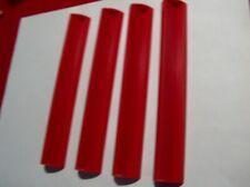 """4 Red Scrabble Letter Tile Holders  6.5"""""""
