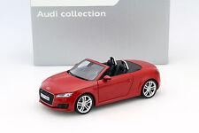 Audi TT Roadster tango rot 1:18 Minichamps