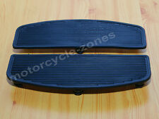 Pair Foot Floorboards Insert For Harley Touring Softail Electra Road Glide King