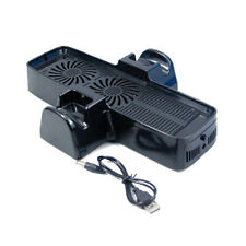 External Vertical USB Dual Cooling Fan For Microsoft Xbox 360 Slim Cooler Stand
