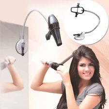Hands Free Bathroom Wall Mount Hair Dryer Stand/Holder With Sucker Adjustable