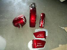 Vernice Set rosso Jinlun JL125-13 Serbatoio , Laterale Coperchio , Parafango