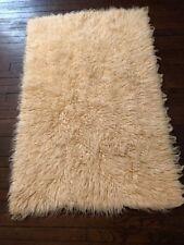 "Floati Shag Sheep's Wool Rug 4' 3"" L X 2' 9"" W"